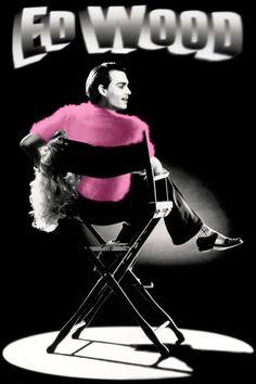 TB036. Ed Wood (2) / Ed Wood / Movie Poster (1994) / #Movieposter / #Timburton