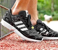 wholesale dealer 892cc 7efc1 adidas Originals ZX Flux Weave – Black   Running White – Onix