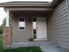 6 Panel Front Door W Single Sidelight Curb Appeal