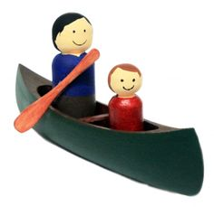 DIY Paint Your Own Canoe Kit - From The Canadian Canoe Museum