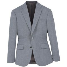 Regular-Fit Suit Blazer (6.890 RUB) ❤ liked on Polyvore featuring outerwear, jackets, blazers, tailored blazer, mango blazer, mango jackets, blazer jacket and long sleeve blazer