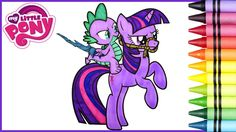 Today from our My Little Pony Coloring Book we color in Twilight Sparkle and Spike. This was a fun MLP coloring video! If there are any other My Little Pony Coloring videos you would like to see us do let us know in the comments!  The Toy Bunker is a toy review channel featuring fun kids toys like Transformers Shopkins Disney Cars Legos Monster Jam Monster Trucks and My Little Pony. We also love featuring and McDonalds Happy Meal Toys!  Have you seen our Giant Play Doh Surprise Eggs?…