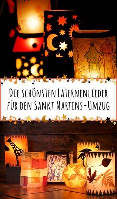Am 11. November ist mit Sankt Martin der Tag der Laternenumzüge. Eine Auswahl der schönsten Laternenlieder.