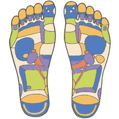 Colourful Foot Chart