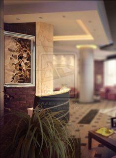 a small hotel Interior Design