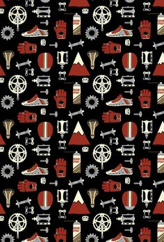 Website background image, Tokyo Fixed Gear.