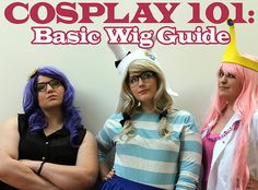 Cosplay 101: Basic Wig Guide (Part 2) - Wig styling, wearing a wig, and wig storage techniques! #cosplay