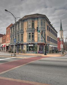 Downtown Macon GA - Mulberry St. across from Court house