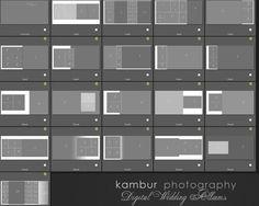 PSD 12X12 Wedding Album Template 20 spread by KamburPhotography