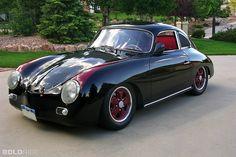 Great color combo . . . Porsche 356