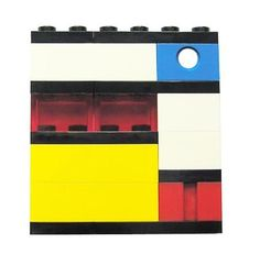 Geek chic Primary Colors brooch - made from LEGO® bricks on stretchy cords - MONDRIAN Bauhaus De Stijl Bauhaus, Geek Chic, Legos, Piet Mondrian, Lego Brick, Primary Colors, Brooch Pin, To My Daughter, Have Fun