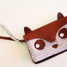 DIY - Fox purse tutorial small -- Someone PLEASE make me this ^_^ #foxes #love