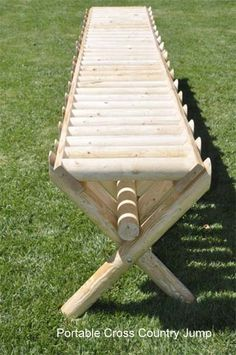 cool idea for XC jump, will prob have to build that!