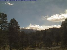Estes Park Colorado Webcam - Click to see live image! Towering over the park at 14,259 feet, Longs Peak is a spectacular site in Rocky Mountain National Park.