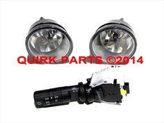 2004-2014 Nissan Titan Fog Light Lamps Switch Kit W/O Auto Head Lights OEM NEW #Nissan