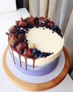 64 trendy ideas birthday cake decorating ideas for boys food Birthday Cake Decorating, Cake Decorating Tips, Cake Decorating Techniques, Pretty Birthday Cakes, Pretty Cakes, Cake Birthday, Bolo Tumblr, Cake Cookies, Cupcake Cakes