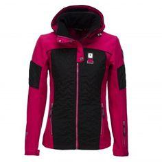 IcePeak, Neve stretch ski jas, dames, blauw | Ski mode Jas
