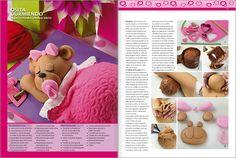#Tortas Decoradas 2012 N° 03 - TORTAS RAPIDAS - osita durmiendo