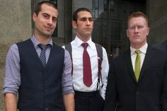 WTC jumpers found not guilty on top charge