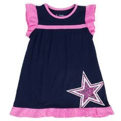 Cowboys Toddler Wylie Dress Dallas Cowboys Gear 9f8d02dac