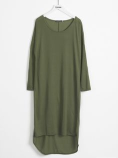 Feel ultra free anywhere! Do not miss this long olive high low dress with plunging neckline. Get this within Only 7 Days! Take more comfy items at Cupshe.com !