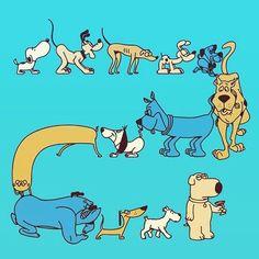 Dog Scrapbook, Scrapbooking, Funny Dogs, Dachshund, Scooby Doo, My Friend, Stencils, Snoopy, Animation