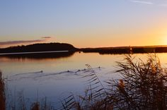 Sonnenuntergang Achterwasser