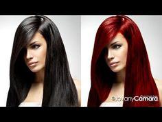 Tutorial Photoshop: Retoque Fotográfico Cambio de Color Cabello Oscuro a Rojizo.