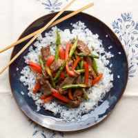 10-minute Steak Stir-Fry from our blog -- In this delish recipe, we pair veggies with shirataki rice and steak to stimulate the liver, which tells your body to release fat cells from storage.