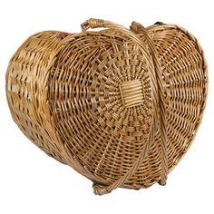 Heart Picnic Basket.