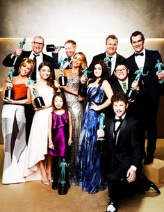 Modern Family 2014 SAG Awards