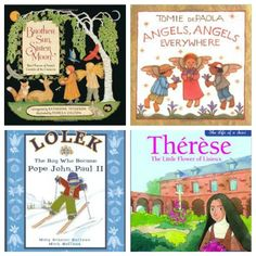 Picture books about the Saints