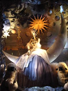 "BERGDORF GOODMAN (window display) | ""Calendar Girls"", Holiday 2008 