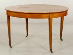 EARLY 19TH C. DINING TABLE Annual Thanksgiving Auction Day Two | Official Kaminski Auctions