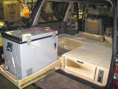 Toyota Land Cruiser Storage Refrigerator