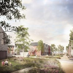 Bell Phillips Architects has won approval for this 128 home, council-backed scheme in Tilbury, Essex