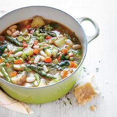 Use vegetable stock instead of chicken stock to make this a vegetarian dish.