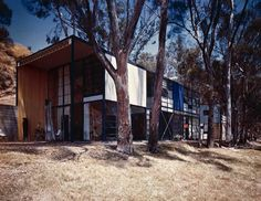 The Case Study House no. 8 by Charles and Ray Eames. Click on the image to discover its story.