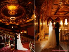 Winter Wedding : Waterbury Country Club : Palace Theater