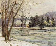 "maufra maxime the ice on pond of avray 1897 sotheby (from <a href=""http://www.oldpainters.org/picture.php?/30168/category/13215""></a>)"