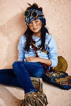 Denim Lookbook Kids- Scotch & Soda- Summer 16