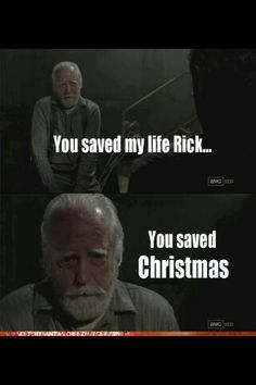 I know it all the time that he's Santa .Good job Rick °u°