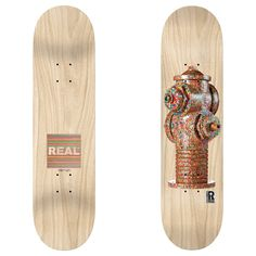REAL- HUF X HAROSHI HYDRANT DECK