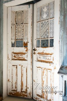 Vintage Interior: Nina´s stuff  Love for Laundry/Craft Room Doors