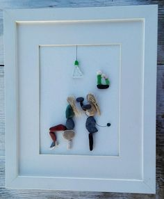 Pebble art hairdresser picture hair salon business gift