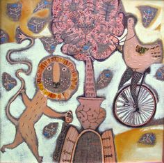 bicycles in my paintings on Behance