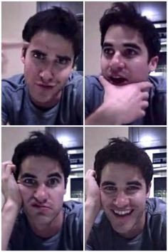 i would skype him anyday! Darren you are too cute! :)