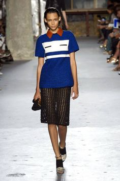 Proenza Schouler Spring 2015. See all the top runway looks from New York Fashion Week here.