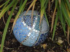 BlaueKugel by mosaicaway, via Flickr