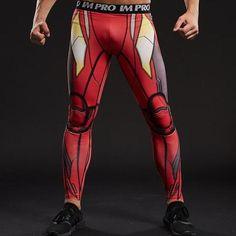 157a594040 Iron Man Dry-Fit Pants New Iron Man, Fight Wear, Super Hero Shirts